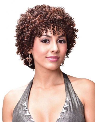 Bijoux - Human Hair Wig AFRO JERRY