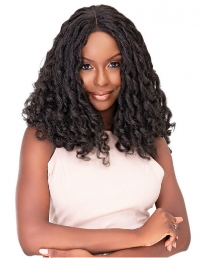 Janet Collection - Natural Me Deep Part Lace Wig JENNA