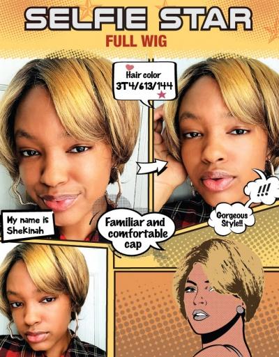 Modu Anytime - Selfie Star Full Wig SS-SPENCER