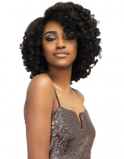 Janet Collection - Natural Me Deep Part Lace Wig YANA