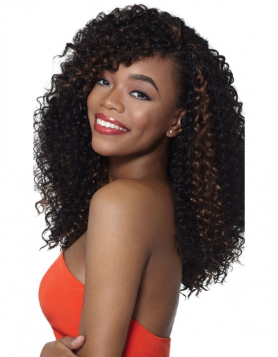 Outre - X-Pression Braid 4 in 1 Loop Bahamas Curl 14""
