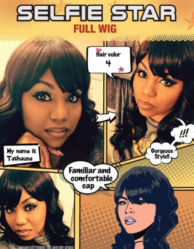 Modu Anytime - Selfie Star wig SS-CLARET