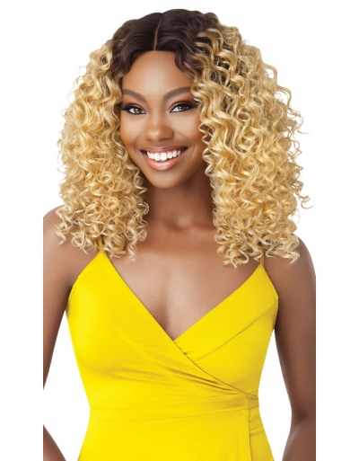 Outre - The Daily Wig Hand-Tied Lace Part Wig DEANDRA