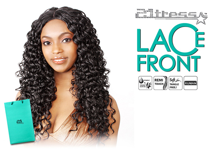 R B Collection Human Hair Blend Lace Front Wig Hl Angel